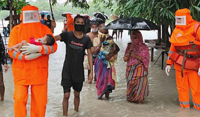 NDRF-rescuing-in-Assam-Floods, PrayforAssam