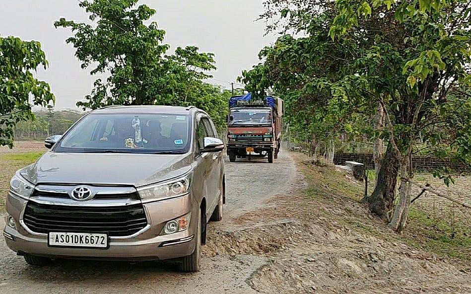 MLA Jakir Hussain draws flak for terrible roads